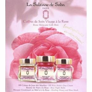 Dočasně vyprodáno! Coffret à la Rose - pleťová sada s růží